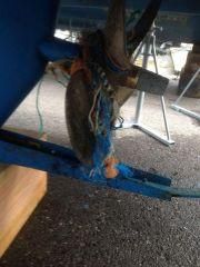 Debris in the water!