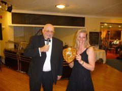 Diane Annear picks Up Sams Best Junior Specimen Shield