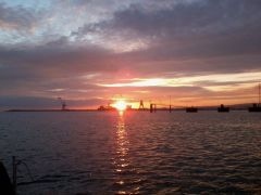 Dawn over Cherbourg