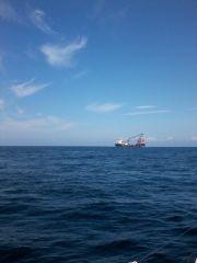 Crane On Ship