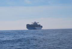 Best to go round the stern......