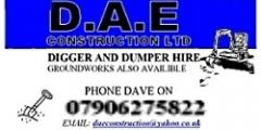 dae digger hire