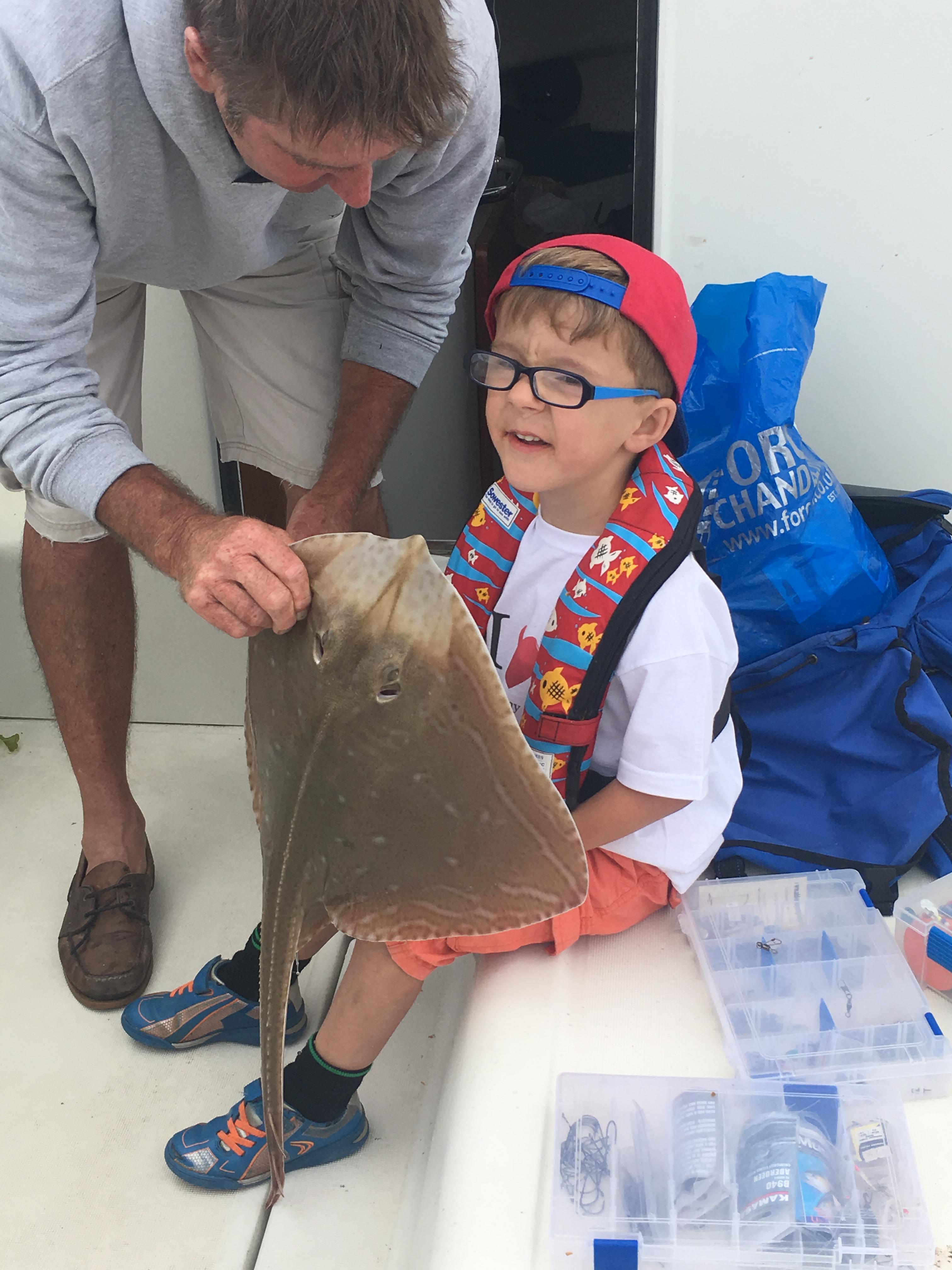 Blake's Small Eyed Ray Junior Fishing Comp 2016