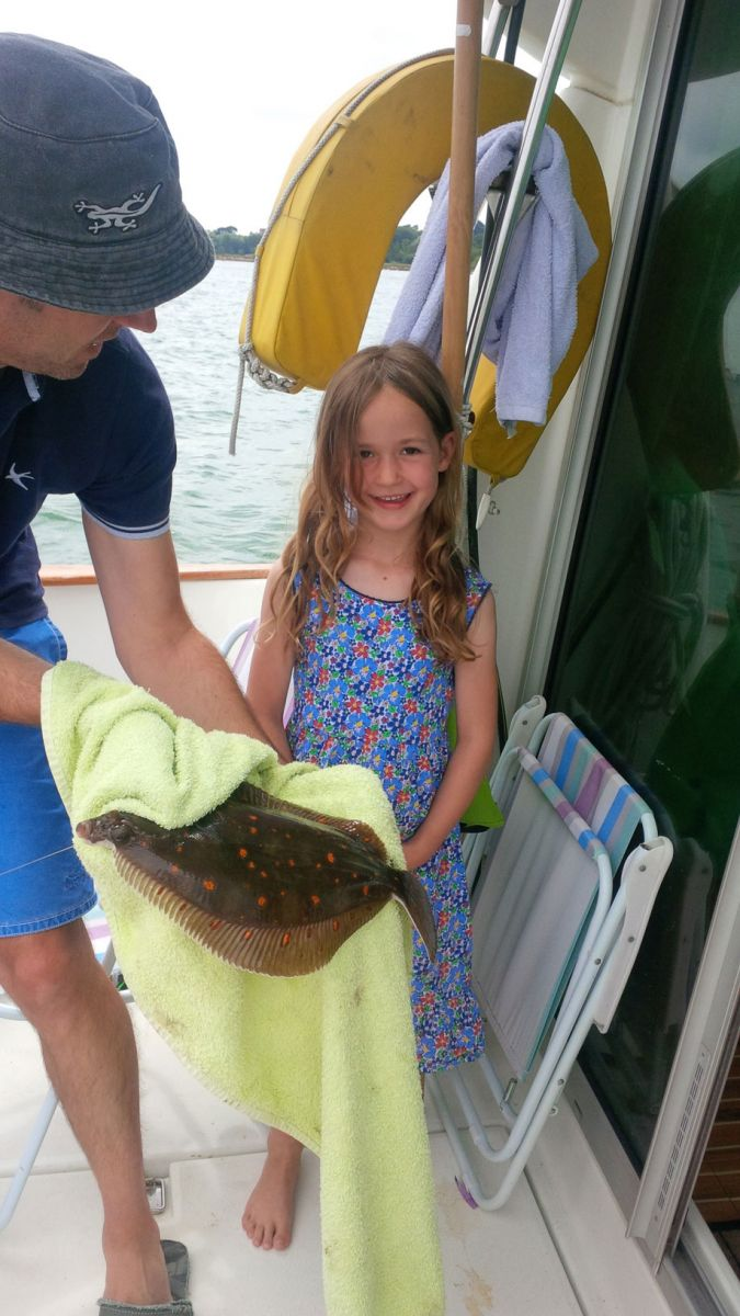 Charlotte Samways Plaice Junior Fishing Comp 2016