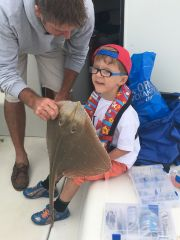 Blake's Small Eyed Ray Junior Fishing Comp 2016